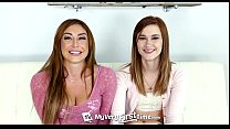 MyVeryFirstTime - Alaina Dawson tries her first threesome with sexy Christiana C pornhub video
