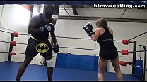 Interracial Boxing Spar Thumbnail