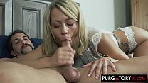 PURGATORYX Genie grants my wish for a hot blonde to fuck (Zoey Monroe)