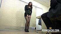 JAV Secretary fucked by her older boss - More   - 9Club.Top