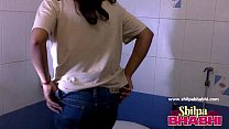 Gorgeous Indian Wife Shilpa Bhabhi Hot Shower -...