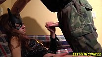 BATGIRL SERVES BANE tumblr xxx video