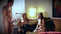 Tiedup girlfriend cuckqueaned until facial