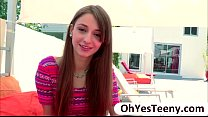 Fresh teen hottie Willow Hayes first time encou... thumb
