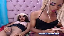 The Two Couple Tranny Super Like To Show Her Dick On Cam