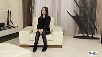 HER LIMIT - Sexy Russian brunette Sasha Rose takes brutal pussy and ass drilling