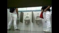 Pegação em banheiro de supermercado 7
