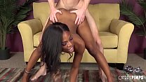 Sarah Banks Is a Tight Ebony Teen That Gives It All Image