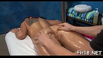 Hot 18 year old cutie gets drilled hard by her masseur porn image