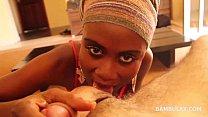 black teen amateur blowjob cum in mouth thumbnail