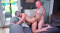 AMATEUR EURO - Amateur Housewife Brigitte T. Loves Neighbor's Cock