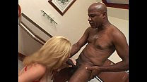 Massive black cock in blonde pussy
