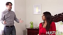 Super hot steps is Ella Knox bent over and ban nt over and banged hard