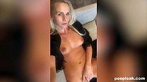 Hot Blonde Takes a Long Masturbation Selfie Thumbnail