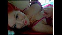 Redhead Webcam Cutie teases