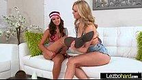 Lez Girls (Shae Summers & Alli Rae) In Sex Action clip-27