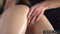 hot masala - TEENFIDELITY Jade Nile Sensual Massage Leads to THREE Cumshots thumbnail