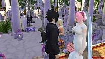 13017 La Boda de Sakura Parte 1 Naruto Hentai Netorare Esposa Vestida de Novia Engañada Marido Cornudo Anime preview
