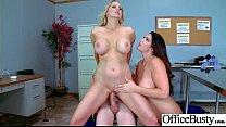 Sex In Office With Busty Slut Horny Girl (Alison Tyler & Julia Ann) vid-03 صورة