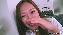 Cute Asian smelling the dick she teases real strong [아시아 애널섹스 asian anal]