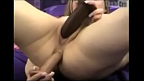 Big Tit Webcam Slut Double Penetration With Big Toys
