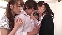 Asian schoolgirls seduce classmate - kareena sexy thumbnail