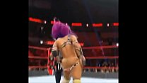 Sasha Banks wardrobe malfunction. Thumbnail
