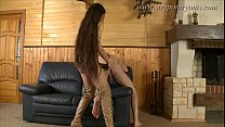 Girl Fucks Guy With Strap-on preview image