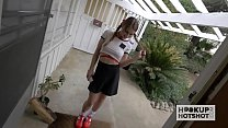 Schoolgirl meets up with a guy onlline pornhub video