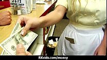 Amateur Chick Takes Money For A Fuck 12