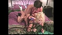 Blonde whore 80 years fucks a stranger happily
