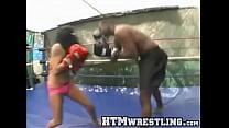 Fierce Latina Beats Down Black Guy Thumbnail