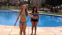 Best friends challenge in pool # BFF - yoga challengs water - desafio da piscina # 5 Preview