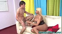 Shemale babe gets railed