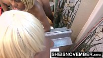 14530 HD Fucking African American Pussy Hard From Behind Doggystyle Sex For Repair Bill Payment , Cute Little Blonde Girl Sheisnovember preview