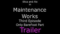 Free download video bokep Maintenance Works Ep3 - Bare Foot Domination