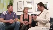 German Big Tit MILF Teach Couple to Have more F...