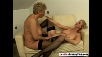 Nasty Mature Blonde Lesbians Having Great Fun