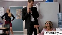 (Jessa Rhodes) Girl With Round Big Tits In Hard Style Sex In Office clip-11