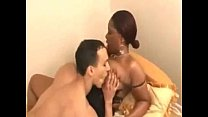 interracial cou ple fuck in bed