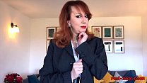 British mature Red will do anything to sell thi...