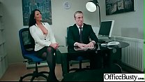 Hard Sex Tape In Office With Big Round Tits Sexy Girl (Candi Kayne) video-09
