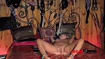 Athletic BDSM vixen Vicky Love dominated to the extreme in chamber of pain GP305 thumbnail