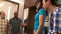 Asian family with black man thumbnail