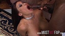 Ex Stripper Big Tits Brunette MILF Rides The Hu