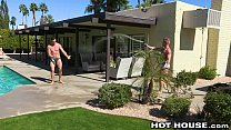 HotHouse Hot Big Dick Muscle Hunk Daddy Fucking After A Swim