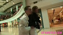 Slim tight amateur pussy fucked in public mall hard long in her wet cunt - 9Club.Top