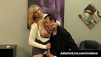 Put Your Head Against Busty Mommy Julia Ann As