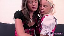 Little Caprice starring in Naughty Swiss Lesbian Schoolgirls