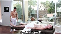 ManRoyale - Liam Troy Gets His Ass Pounded on the Massage Table